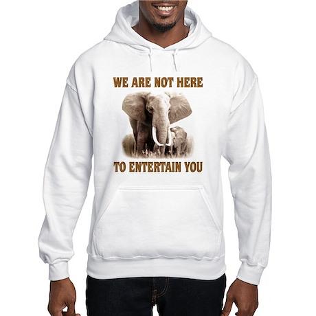We Are Not Here Hooded Sweatshirt