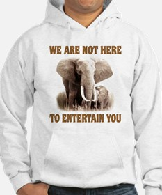 We Are Not Here Jumper Hoody