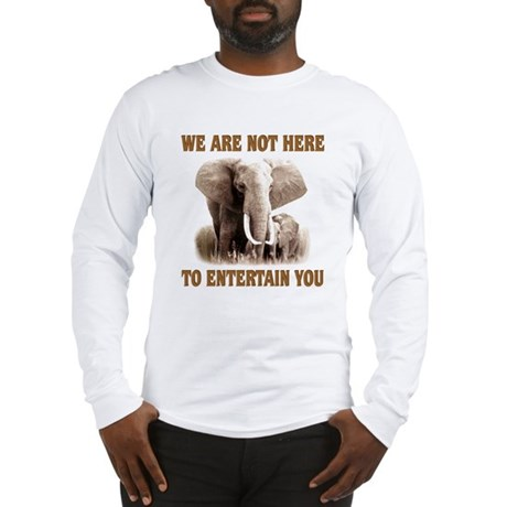 We Are Not Here Long Sleeve T-Shirt