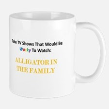 Fake TV Shows Series: ALLIGATOR IN THE FAMILY Mug