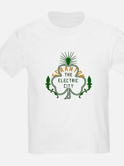 Scranton Electric City Shamrock T-Shirt