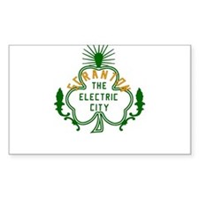 Scranton Electric City Shamrock Decal