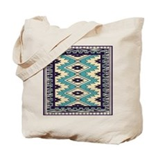 Native Chieftain Pattern Tote Bag
