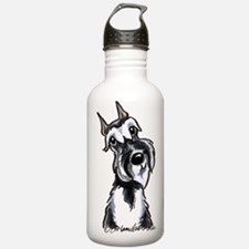 Schnauzer Smile Water Bottle