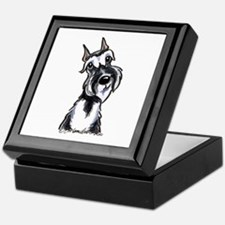 Schnauzer Smile Keepsake Box
