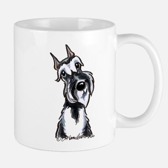 Schnauzer Smile Mug