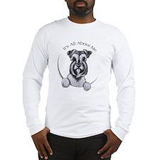 Classic Schnauzer IAAM Long Sleeve T-Shirt
