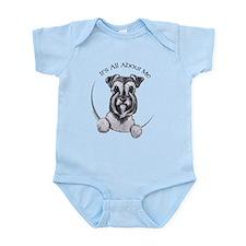 Classic Schnauzer IAAM Infant Bodysuit