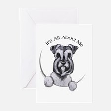 Classic Schnauzer IAAM Greeting Cards (Pk of 20)