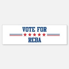 Vote for REBA Bumper Bumper Bumper Sticker