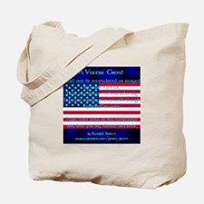 Voters' Creed Tote Bag