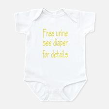 Free Urine Infant Bodysuit