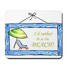 At the Beach Mousepad