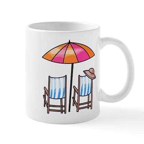 Umbrella and Chairs Mug