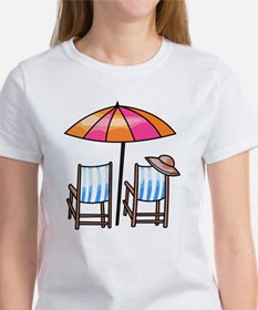 Umbrella and Chairs Tee