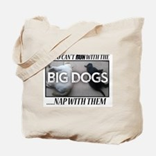 Run with Big Dogs - Labs Tote Bag