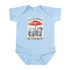 Retirement Infant Bodysuit
