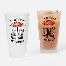 Retirement Drinking Glass