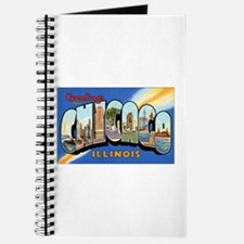 Chicago Illinois Greetings Journal