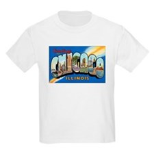 Chicago Illinois Greetings Kids T-Shirt