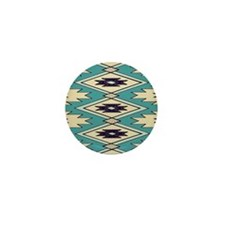 Native Chieftain Pattern Mini Button (10 pack)