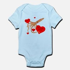 Personalized Squid Infant Bodysuit