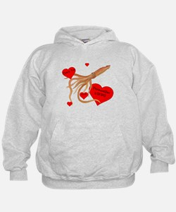 Personalized Squid Hoodie