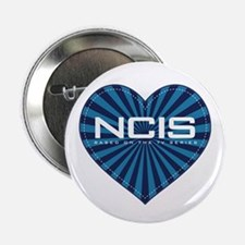 "NCIS Heart 2.25"" Button"