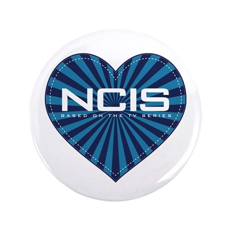 """NCIS Heart 3.5"""" Button (100 pack)"""