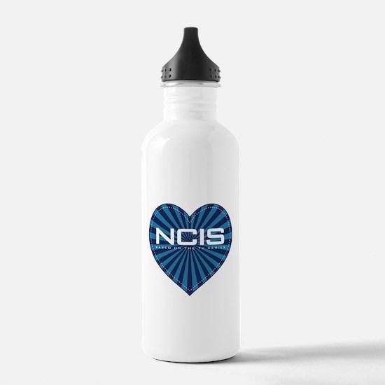 NCIS Heart Water Bottle