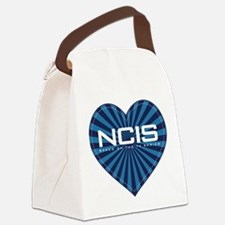NCIS Heart Canvas Lunch Bag