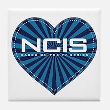 NCIS Heart Tile Coaster