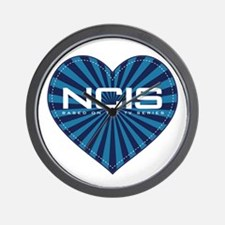 NCIS Heart Wall Clock