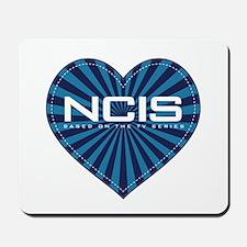 NCIS Heart Mousepad