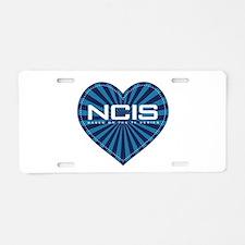 NCIS Heart Aluminum License Plate