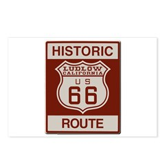 Ludlow Route 66 Postcards (Package of 8)