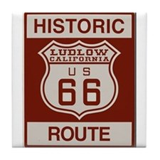 Ludlow Route 66 Tile Coaster
