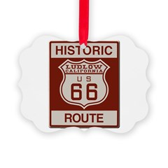 Ludlow Route 66 Ornament