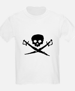 Jolly Roger Pirate Kids T-Shirt
