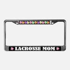 Lacrosse Mom License Plate Frame