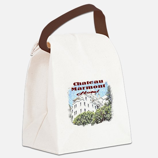 Unique Hotel Canvas Lunch Bag
