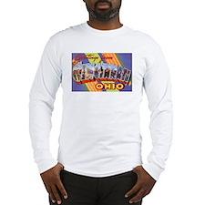 Cincinnati Ohio Greetings Long Sleeve T-Shirt