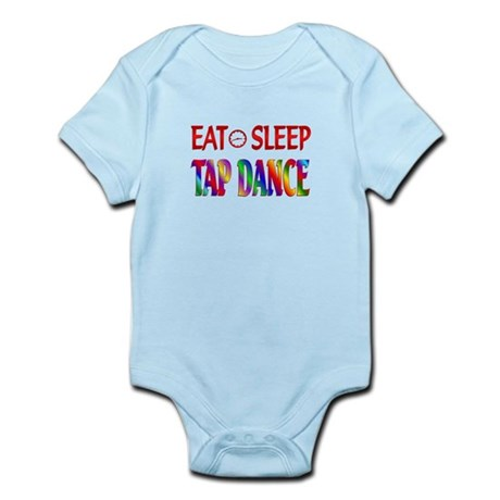 Eat Sleep Tap Dance Infant Bodysuit