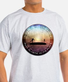 Putt Plastic In Its Place T-Shirt