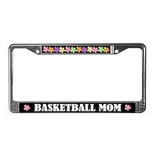Basketball Mom License Plate Frame