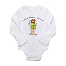 It's Five O'Clock Somewhere Long Sleeve Infant Bod