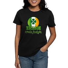 Irish Credit Analyst St Patricks Tee