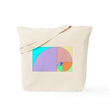 Golden Ratio spiral Tote Bag
