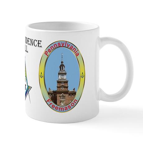 Pennsylvania Mason - Independence Hall Mug