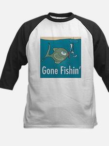 Gone Fishin, Funny Fishing Tee
